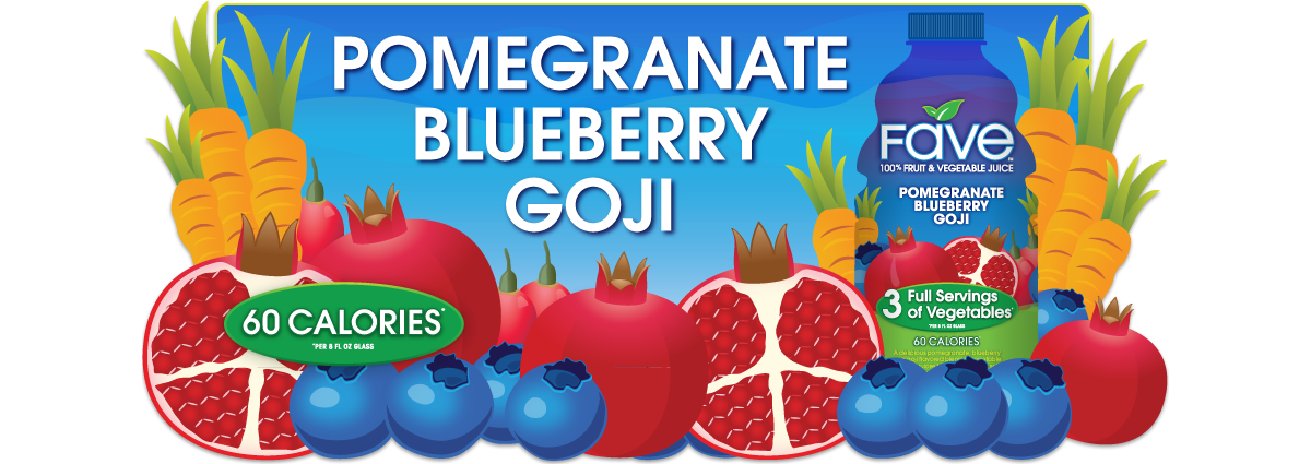 Pomegranate-Blueberry-Goji