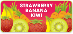 Strawberry Banana Kiwi Flavor